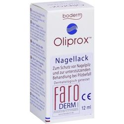 Oliprox Nagellack CE bei Pilzbefall