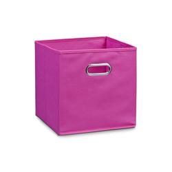 Zeller Aufbewahrungsbox in pink, 28 x 28 cm