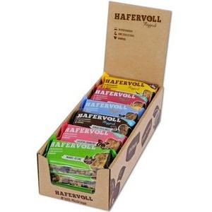 Hafervoll Müsliriegel Flapjack Mix-Box, handgemacht, 6 Sorten, je 65g, 18 Riegel