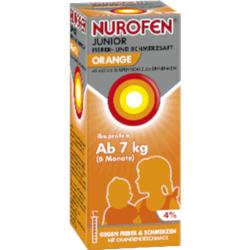 NUROFEN Junior Fieber-u.Schmerzsaft Oran.40 mg/ml 100 ml