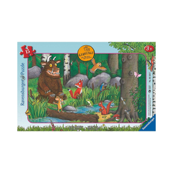 Ravensburger Puzzle Puzzle 15 Teile Die Maus und der Grüffelo, Puzzleteile
