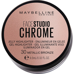 MAYBELLINE NEW YORK Highlighter Facestudio Chrome Jelly braun