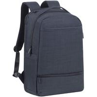 RivaCase® Rucksack speziell für Gamer perfekt für Businesstrips und Reisen für Laptop bis 17.3 (Schwarz)