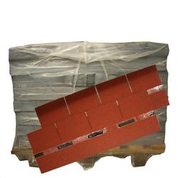 Dachschindeln Rechteck Rot 30 Pack = 90 m²