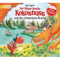 Der kleine Drache Kokosnuss und der chinesische Drache als Hörbuch CD von Ingo Siegner