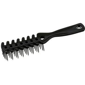 Keller VENT-Föhnbürste mit Noppen 204x35 mm schwarz Haarbürste