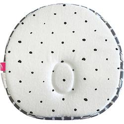 Ergonomisches Babykissen gegen Plattkopf mit Memory Foam - Öko-Tex Standard 100 - grau classics