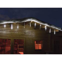 LED Snowfall Lichterkette mit 10 Stäben für den Innen- und Außenbereich