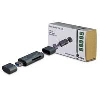 Inter-Tech Argus V16-2.0 Kartenleser Grau USB 2.0