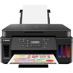 Canon PIXMA G6050 Farb Tintenstrahl Multifunktionsdrucker A4 Drucker, Scanner, Kopierer LAN, WLAN, D