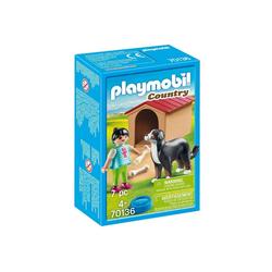 Playmobil® Spiel, PLAYMOBIL® Country Hofhund mit Hütte