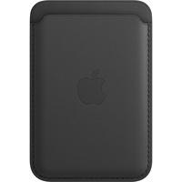 Leder Wallet MagSafe für iPhone 12 mini, Schwarz