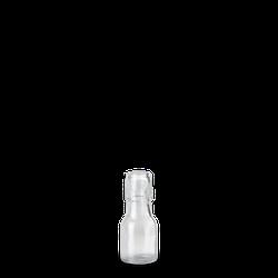 50 ml Bügelflasche - Klarglas - Lochmund