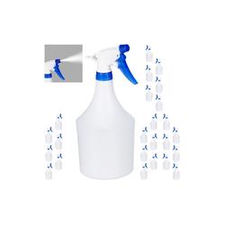 relaxdays Sprühflasche 24x Sprühflasche in Blau