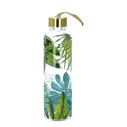 PPD Trinkflasche Glasflasche jungle real gold 550 ml