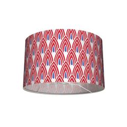 anna wand Lampenschirm Tisch- und Stehleuchten-Lampenschirm African Pattern rot/blau 30x20 cm