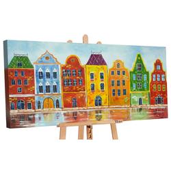 YS-Art Gemälde Traum Stadt II 144