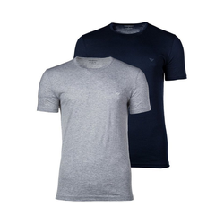 Emporio Armani Unterhemd Herren T-Shirt 2er Pack - Crew Neck, Rundhals, XL