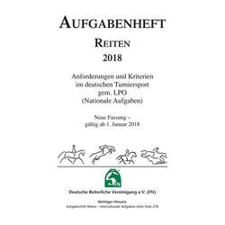 Aufgabenheft - Reiten 2018 (Nationale Aufgaben)