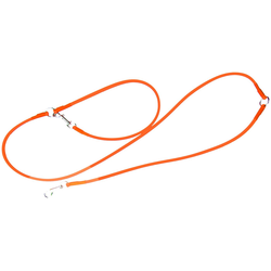 HEIM Hundeleine Biothane, Biothane, für Retriever, orange, Ø: 1 cm, L: 2,5 m