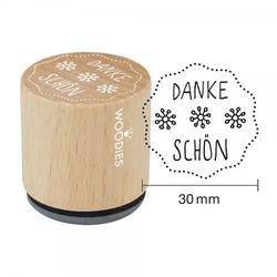 Woodies Stempel - Danke schön W12008