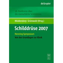 Schilddrüse 2007 als Buch von