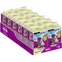 whiskas Fresh Menue 1 + Katzenfutter – Hochwertiges Nassfutter für gesundes Fell – Feuchtfutter in verschiedenen Geschmacksrichtungen, 12 x (6 x 50 g)