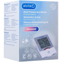 Alvita Oberarm-Blutdruckmessgerät Advanced