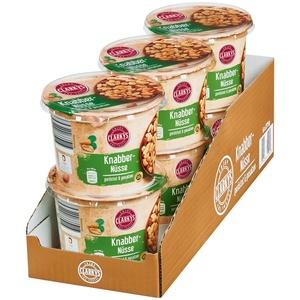 Clarkys Snack Nüsse geröstet & gesalzen 275 g, 6er Pack