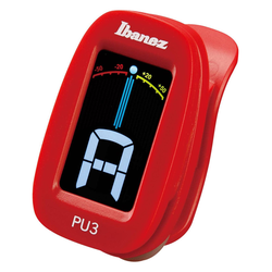 Ibanez PU3-RD Clip Auto Tuner
