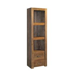 Bücherregal aus Teak Massivholz 60 cm