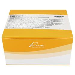 PASCORBIN 750 mg Ascorbinsäure/5ml Injektionslsg. 100X5 ml