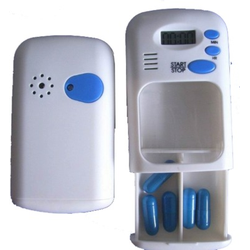 PILLENDOSE mini mit Alarm