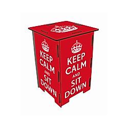 Werkhaus Photo-Hocker Keep Calm