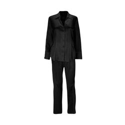 Eva B.Bitzer Pyjama Seiden-Pyjama schwarz S = 38