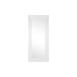 Spiegelprofi Rahmenspiegel Glitty in weiß, 79 x 179 cm