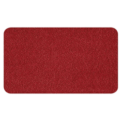 Kleine Wolke Badteppich Super Soft in weinrot, 55 x 65 cm