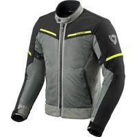 RevIt! Revit Airwave 3, Textiljacke, schwarz-grau-gelb, Größe S