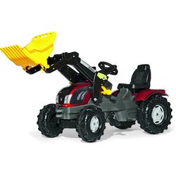 Rolly Toys Trettraktor mit Schaufellader rolly Farmtrac Valtra T163