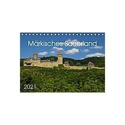 Märkisches Sauerland (Tischkalender 2021 DIN A5 quer)