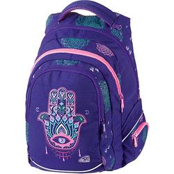 Schul-/Freizeitrucksack FAME Hippie lila