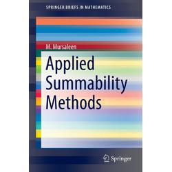 Applied Summability Methods als Buch von M. Mursaleen