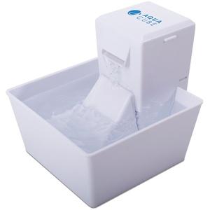Aqua Trinkbrunnen Cube, 1,8 Liter, organischer Filter,BPA frei, energiesparend, leise, für kleine Hunde und Katzen