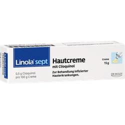 LINOLA sept Hautcreme mit Clioquinol 15 g