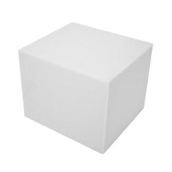 dynamic24 Sitzwürfel, DIY Würfel Schaumstoff Polster Zuschnitt Schaumstoffplatten Sitzpolster