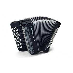 Weltmeister Romance 874 SI C-Griff Knopf Akkordeon italienische Stimmplatten