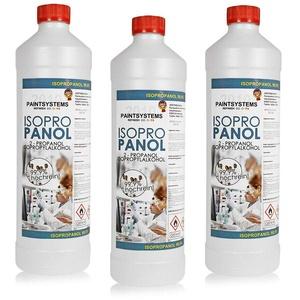 SNC Isopropanol IPA 99,9% – Reinigungsalkohol für Haushalt, Küche, Kosmetik und Industrie –Reinigungsmittel 3 x 1 Liter