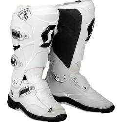 Scott MX 550 S17, Stiefel - Weiß/Weiß - 46 EU