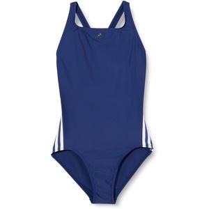 adidas Mädchen FIT Suit 3S Y Swimsuit, tech Indigo/White, 1112Y