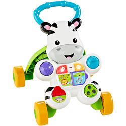 Fisher-Price Lern mit mir Zebra-Lauflernwagen, Baby Lauflernhilfe, Laufwagen